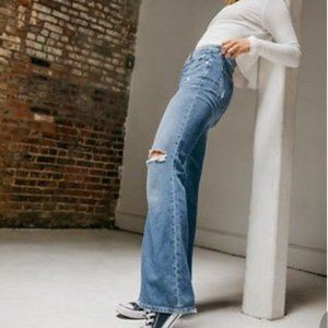 NWOT Free People Flare Leg Jeans Size 24